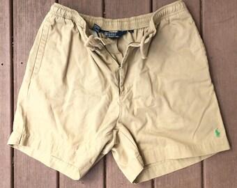Polo Ralph Lauren Khaki Shorts Size Large