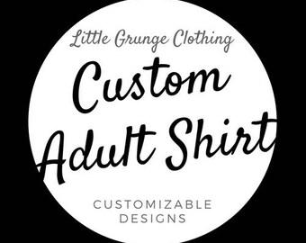 Custom Adult Shirts