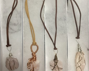 Wire-Wrapped Crystal Jewelry