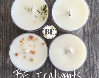 BE Tealight Candles // Wedding Favors // Event Favors Sample Kit