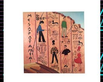 The B-52's - Mesopotamia LP Record, 1982 Vintage Vinyl Record Album, New Wave, pop rock