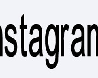Instagram Decal