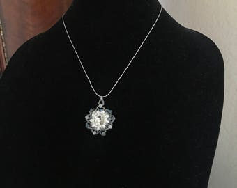 Blue Star Pendant Necklace