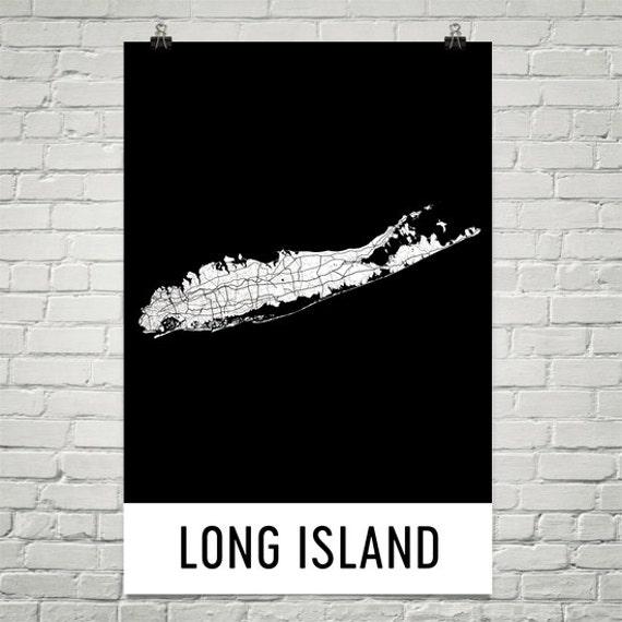 Long Island Wall Art long island map long island wall art long island art long