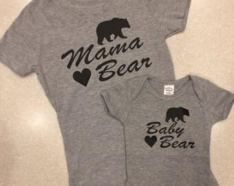 Mommy and Me - Mamma Bear/Baby Bear Set