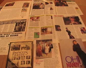 MANDY PATINKIN  CLIPPINGS  #0401