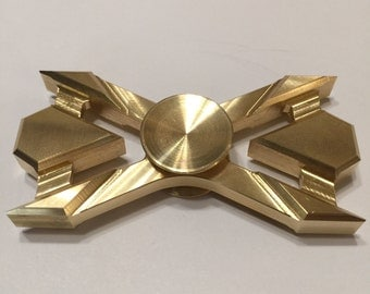 Custom Brass Hand Spinner/Fidget Toy