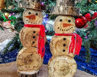 Log Slice Snowman II