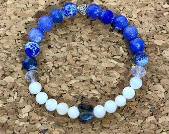 Agate Butterfly bracelet