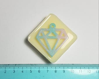 Flexible silicone mold diamond!