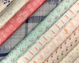 10 Art Gallery Cotton Fabric Bundle-Paperie by Amy Sinibaldi
