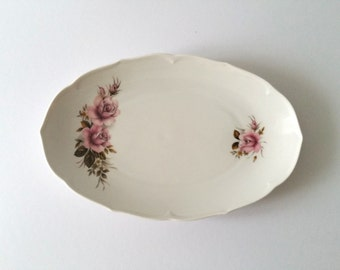 Lovely old flower serving dish