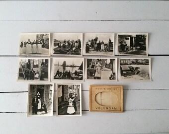 Old black & white photos pictures snapshots 'Volendam, the Netherlands'