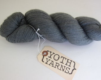 YOTH Yarns Little Brother SABA 002 Gray Merino Cashmere Nylon Yarn
