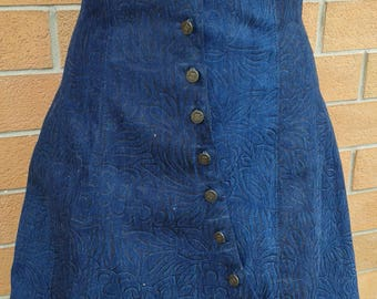 Jeans Underbust/corset with skirt (underbust with skirt)