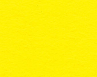 Yellow Craft Felt Fabric - Kunin Felt - Crafting Felt