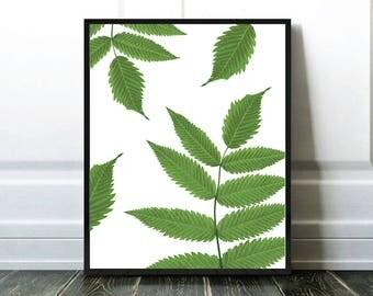 Affiche Feuilles Arbre, Leaves Tree Print, Digital Download, Popular Item, Meilleure Vente, Affiche Imprimable, Best Selling Items