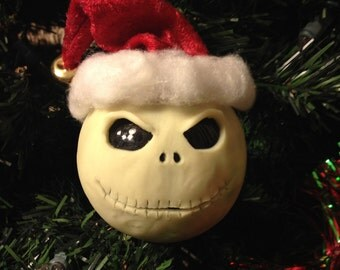 Jack Skellington ornament Glow in the dark