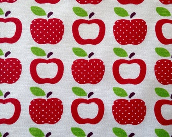 Simple Apple Print Fabric