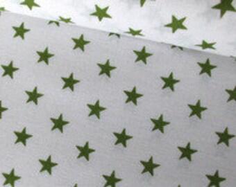 Fabric Star 1cm, olive, art. 7499