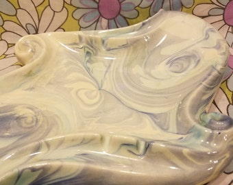 Mid century ceramic ashtray