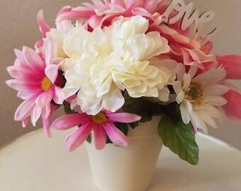 Pink Love Flower arrangement
