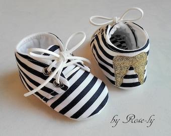 Baby booties (baby shoes) anti-slip Angel Wings