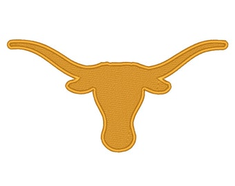 11 Size Texas Longhorns Embroidery Design College Football Embroidery Designs Instant Download Machine Embroidery Designs PES