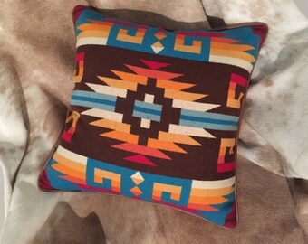 Native American Inspired Pillow - Southwestern Decor- PRICE REDUCED