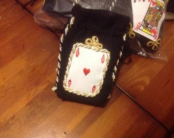 Christmas gift bag, card holder