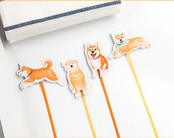 Shiba Magnetic Bookmark