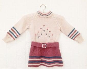 The Raspberry Ripple Knit