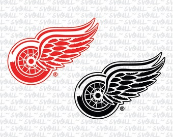 Detroit Red Wings Svg Files, Detroit Red Wings Png, Detroit Red Wings PDF Detroit Red Wings EPS, Detroit Red Wings DXF Instant Download