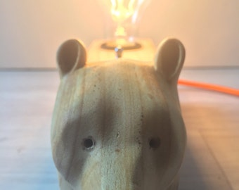 Bear lamp/lámpara oso