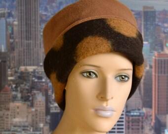 Woolen hat with fleece