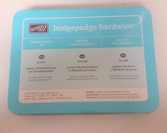 Stampin Up' Hodgepodge Hardware Embellishment Kit