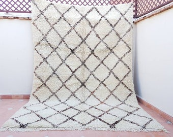 Moroccan carpet, berber rug, original beni ourain rug, beni ourain carpet, beni ouarain carpet, handmade rug, BENI OURAIN, beni ouarain.
