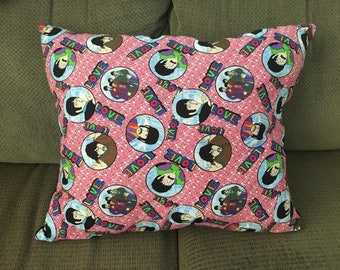FREE SHIPPING Yellow Submarine Beatles Pillow(s) (Pink and Black)