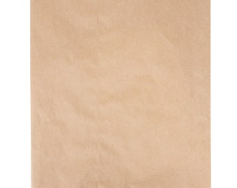 """100-200 Brown Kraft Paper Bag 12X15"""", printable bags, DIY weddings, favor bags, bags, merchandise bags, treat bags, party supplies, wedding"""