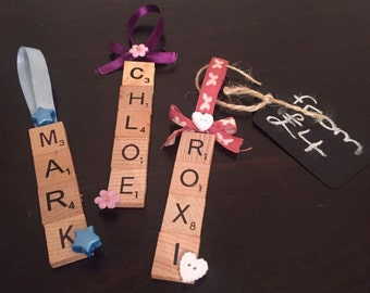 Scrabble Letter Decoration