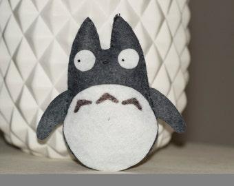 Totoro mini plush felt