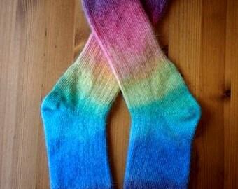 Classic Angora Socks