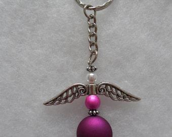 Angel Wing Key Rings