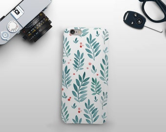 Leaves and Berries Phone Case