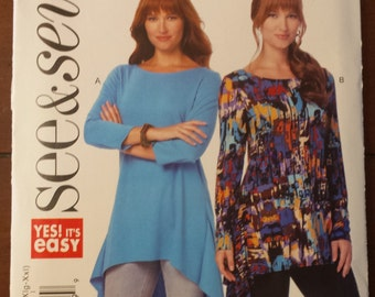 See & Sew Pattern 6269, pullover tunic