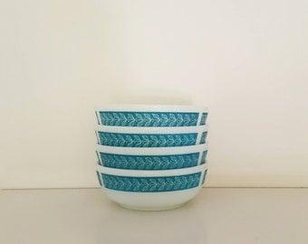 VINTAGE PYREX Dessert Bowls (set of 4)