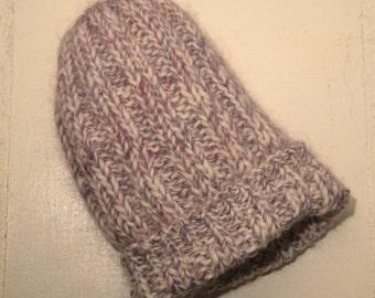 Winter Knit Beanie // Heathered Textured