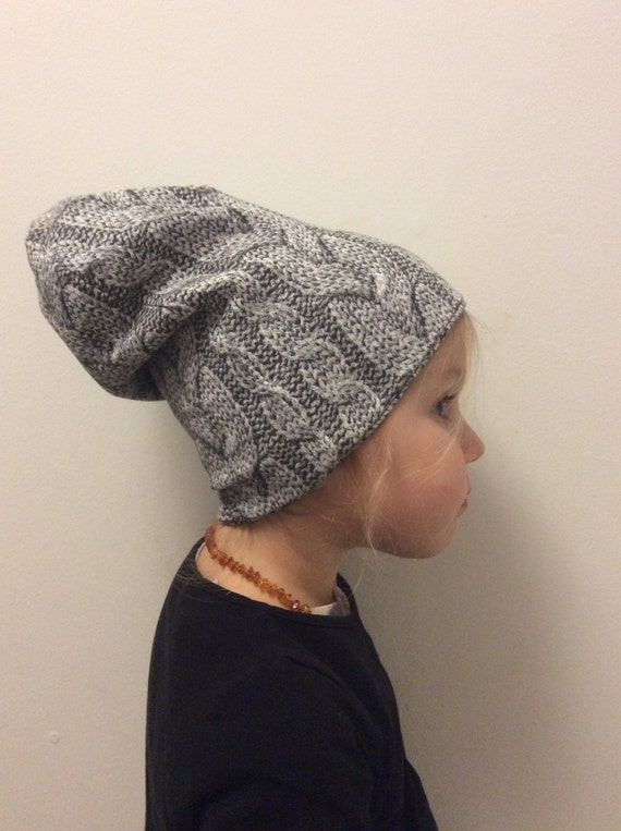 SALE!! Baby Slouchy Beanie Hat, Knitted Baby Hat, Kids Beanie, Hipster Baby Beanie, Jersey Beanie Hat, Hipster Toddler Hat, Baby Gift, Hat