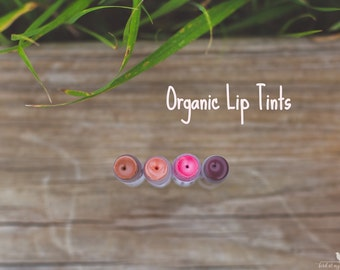 Organic Lip Tints