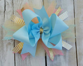 Add a beautiful matching boutique bow to complete your outfit!
